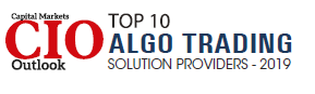 SmartQuant is named Top Ten Algo Trading Solution Providers by the Capital Markets CIO Outlook magazine in the United States.